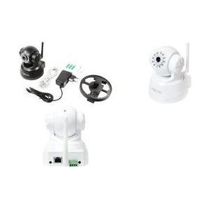 Sicherheit - Logilink Netzwerk Überwachungskamera schwenken neigen Farbe MJPEG (WC0030W)  - Onlineshop JACOB Elektronik