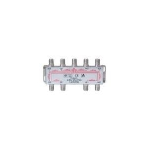 Good Connections Alcasa electronik - Satellitenantennen-Splitter F-Stecker (W) bis (S-FV8522) - broschei