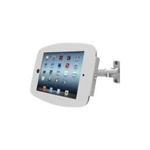 Compulocks iPad Secure Space Enclosure with Swing Arm Kiosk Black. - Wandhalterung für Tablett - Aluminium - für Apple iPad (3. Generation), iPad 2, iPad Air, iPad Air 2, iPad with Retina display (827B224SENB)