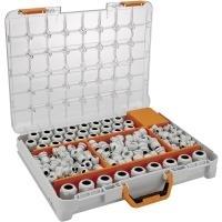 LappKabel Kabelverschraubung Sortiment Polyamid Licht-Grau (RAL 7035) SKINTOP ST-M Sortimo T-BOXX 348 St. (53110030)