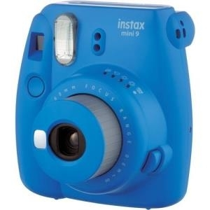 Sofortbildkameras - Fujifilm Instax Mini 9 Instant Kamera Objektiv 60 mm Cobalt Blue (16550564)  - Onlineshop JACOB Elektronik