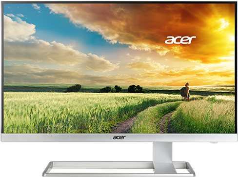 Acer S277HK - LED-Monitor - 68,6 cm (27) - 3840 x 2160 4K - IPS - 300 cd/m2 - 100000000:1 (dynamisch) - 4 ms - HDMI, DVI-D, DisplayPort, Mini DisplayPort - Lautsprecher - weiß (UM.HS7EE.001)