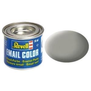 Revell Steingrau - matt RAL 7030 14 ml-Dose Farbe Grau Kunstharz Emaillelackierung Zinn (32175)