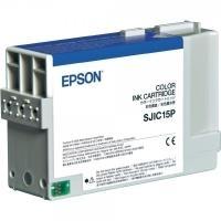 Epson Tinte SJIC15P Original Cyan, Magenta, Gelb C33S020464 jetztbilligerkaufen