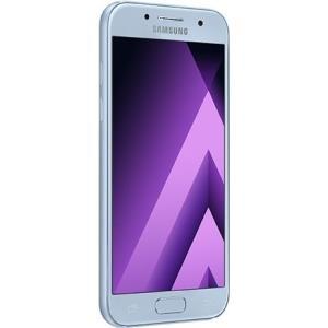 Smartphones, Handys - Samsung Galaxy A3 (2017) SM A320FL Smartphone 4G LTE 16 GB microSDXC slot GSM 4.7' 1280 x 720 Pixel Super AMOLED RAM 2 GB 13 MP (8 MP Vorderkamera) Android blau Dunst  - Onlineshop JACOB Elektronik