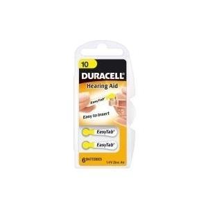 Duracell Hearing Aid DA10 1.4V Nicht wiederaufladbare Batterie (15070636)