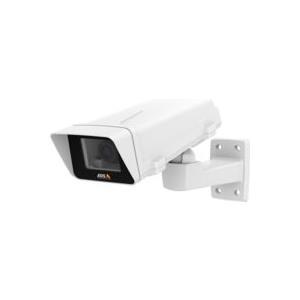 AXIS M1124-E Network Camera - Netzwerk-Überwachungskamera - Außenbereich - staubdicht/vandalismusresistent/wasserdicht - Farbe (Tag&Nacht) - 1280 x 720 - 720p - CS-Halterung - Automatische Irisblende - verschiedene Brennweiten - 10/100 - MPEG-4,