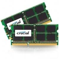 Crucial - DDR3L - 16 GB : 2 x 8 GB - SO DIMM 204-PIN - 1866 MHz / PC3L-14900 - CL13 - 1.35 V - ungepuffert - nicht-ECC - für Apple Mac Pro (Ende 2013) (CT2C8G3S186DM)
