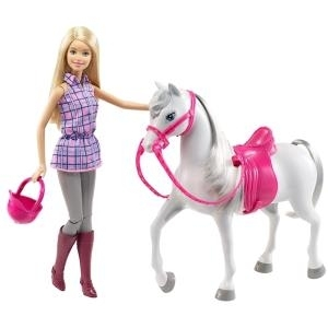 Mattel Barbie - Doll & Horse (DHB68)