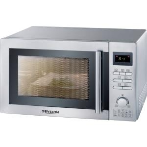 Severin ME 7869 Grill-Mikrowelle Arbeitsfläche 22l 900W Edelstahl Mikrowelle (MW 7869)
