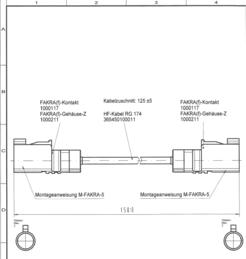 Audiokabel, Videokabel - Antenne Bad Blankenburg ABB Adapterkabel 2 x FAKRA(f) Z, 150 mm RG 174 (2452.01)  - Onlineshop JACOB Elektronik