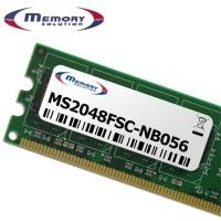 MemorySolution - DDR2 2 GB SO DIMM 200-PIN 800 MHz / PC2-6400 ungepuffert nicht-ECC für Fujitsu ESPRIMO Mobile V6505, V6515, V6535, V6545 (S26391-F6120-L484) - broschei