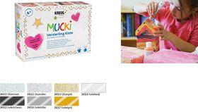 KREUL Verzierling MUCKI, Kiste 7+1 glitzernde K...