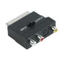 Schwaiger SCA7320 531 - SCART - 3 x RCA + S-VHS...