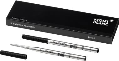 Montblanc Kugelschreibermine MYSTERY BLACK 116191 B sw 2 St./Pa (116191)