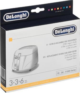 DeLonghi 5525101500 Schwarz - Weiß Friteuse Zub...