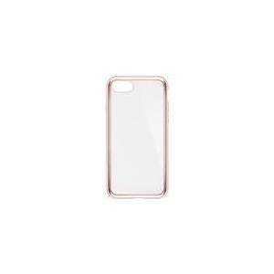 Belkin SheerForce Elite - Hintere Abdeckung für Mobiltelefon - Polycarbonat - Rosegold - für Apple iPhone 7, 8 (F8W849BTC03)