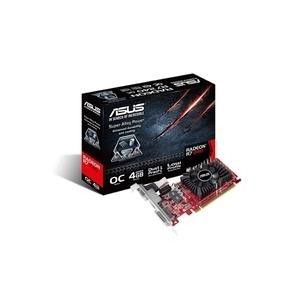 ASUS R7240-OC-4GD3-L - Grafikkarten - Radeon R7 240 - 4GB DDR3 - PCI Express 3.0 x16 Low Profile - DVI, D-Sub, HDMI (90YV04T2-M0NA00)