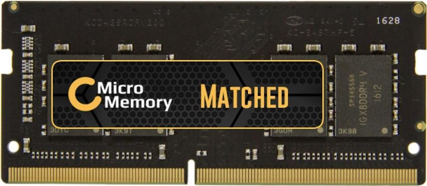 MicroMemory MMXHP-DDR3SD0001 2GB DDR3 1600MHz S...