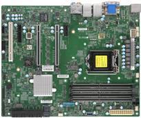 Super Micro SUPERMICRO X11SCA-F - Motherboard - ATX - LGA1151 Socket - C246 - USB 3,1 Gen 1, USB-C Gen2, USB 3,1 Gen 2 - 2 x Gigabit LAN - Onboard-Grafik (CPU erforderlich) - HD Audio (MBD-X11SCA-F-O)