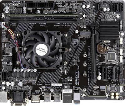 Renkforce PC Tuning-Kit (Media) AMD A8 A8-9600 APU (4 x 3.1 GHz) 8 GB AMD Radeon R7 Micro-ATX (RF-3315476)