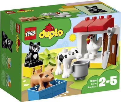 LEGO ® DUPLO® 10870 Tiere auf dem Bauernhof (10...