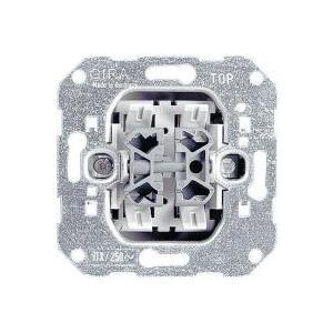 GIRA Einsatz Wechselschalter Standard 55, E2, Event Klar, Event, Opak, Esprit, ClassiX, System jetztbilligerkaufen