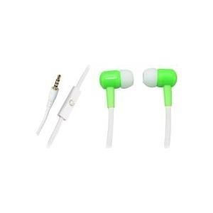 Sandberg Speakn Go In-Earset - Ohrhörer mit Mikrofon - im Ohr - Neongrün (125-64)