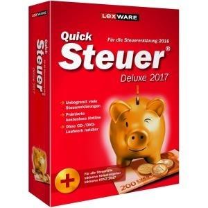 Lexware QuickSteuer Deluxe 2017 (PC Win) DE jetztbilligerkaufen