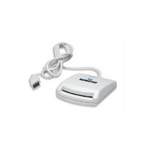 Manhattan - SmartCard-Leser - USB - weiß