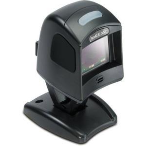 Datalogic Magellan 1100i, 1D, Imager, Multi-IF, Kit (USB), schwarz Präsentationsscanner, Retail, 1D, Imager, Trigger, 1768 Scans/Sek., Multi Interface (RS232, KBW, USB), IP52, inkl.: Kabel (USB), Riser-Stand, Farbe: schwarz (MG112041-001-412)
