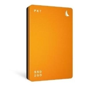 Angelbird SSD2GO PKT, 256 GB ext. SSD, USB-C/USB 3.1, orange - broschei