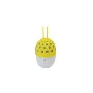 Conceptronic CSPKBTWPHLY - Lautsprecher - tragbar - drahtlos - 3 Watt - Gelb (120832807)