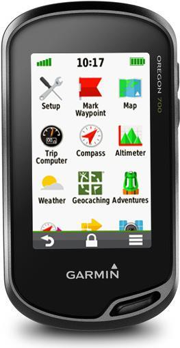 Navigationsgeräte - Garmin Oregon 700 Handgeführt 7,60cm (3') TFT Touchscreen 209.8g Schwarz Navigationssystem (010 01672 02)  - Onlineshop JACOB Elektronik