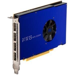 AMD FirePro Wx5100 - Grafikkarten - Radeon Pro WX 5100 - 8 GB GDDR5 - PCIe 3.0 x16 - 4 x DisplayPort