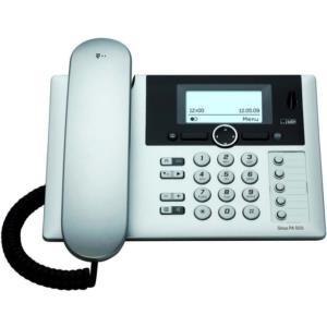 TELEKOM Sinus PA 503i plus 1 ISDN Komfort-Tischtelefon mit Display zus. Mobilteil Anrufbeantworter Freisprechfunktion 5 MSN zuweisb. (40290515)