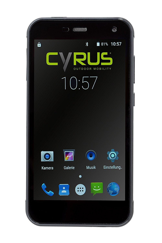 Outdoor Telefone - Cyrus Outdoor Smartphone CS28 12,7cm (5Zoll) 3GB RAM Dual Sim stoßsicher staubgeschützt wasserfest (CYR10109)  - Onlineshop JACOB Elektronik
