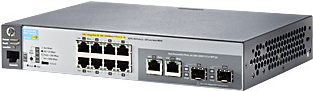Hewlett-Packard HP 2530-8G-PoE+ Switch (J9774A) (Bild #5)