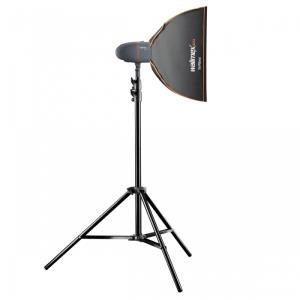 Blitzgeräte - mantona Walimex Pro Newcomer Set Starter 300 SB Studioblitz 1 Köpfe x 1 Lampe 300 Ws AC (21324)  - Onlineshop JACOB Elektronik