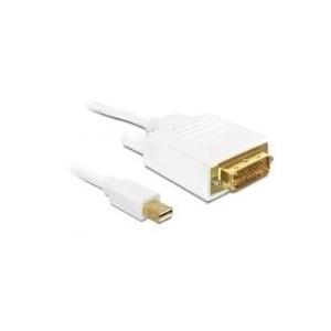 DeLOCK - DisplayPort-Kabel - Mini DisplayPort (M) - DVI-D (M) - 2,0m (DisplayPort 1,1a) - für Apple MacBook, MacBook Air, MacBook Pro (82918)