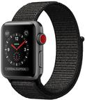 Apple Watch Series 3 OLED GPS Handy Grau Smartw...