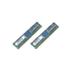 MicroMemory - DDR2 - 2 GB: 2 x 1 GB - FB-DIMM 240-pin - 667 MHz / PC2-5300 - Voll gepuffert - ECC