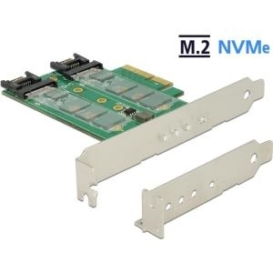 DeLOCK PCI Express Card > 3 x M.2 Slot - Speich...