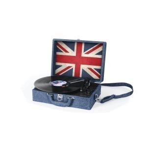 Plattenspieler, Turntables - Muse MT 102 JS Koffer Plattenspieler mit Direktencoding (2 eingebaute Lautsprecher, Halbautomatik, Riemenantrieb, Autostop, AUX In, USB, RCA) (MT 102 JS) (B Ware)  - Onlineshop JACOB Elektronik