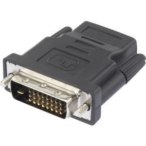 renkforce - Videoanschluß - HDMI / DVI - HDMI (R) bis DVI-D (S) - Schwarz - Daumenschrauben