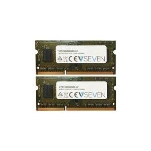 Arbeitsspeicher - V7 DDR3 8 GB 2 x 4 GB SO DIMM 204 PIN 1600 MHz PC3 12800 CL11 1.35 V ungepuffert nicht ECC  - Onlineshop JACOB Elektronik