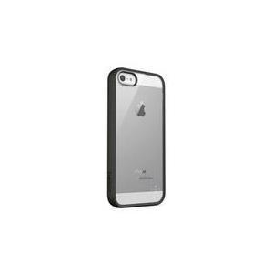 Belkin View - Tasche für Mobiltelefon - Polycarbonat, Thermoplastisches Polyurethan (TPU) - klar, Blacktop - für Apple iPhone 5