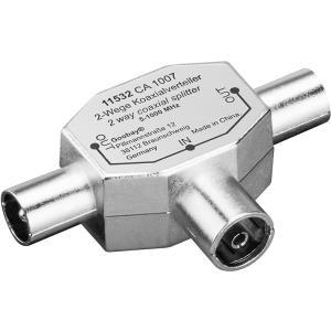 Wentronic Goobay Koax T-Adapter (Metall): 2x IE...