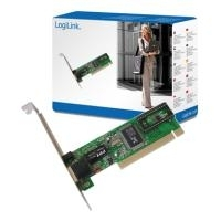 LogiLink Fast Ethernet PCI Network Card - Netzwerkkarte Ethernet, 10Base-T, 100Base-TX (PC0039)