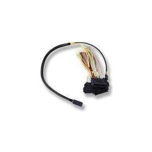 LSI - Internes SAS-Kabel - mit Sidebands - SAS 12Gbit/s - 4-Lane - 36-polig 4x Mini SAS HD (SFF-8643) - interne SAS, 29-polig (SFF-8482) - 60 cm (LSI00412)